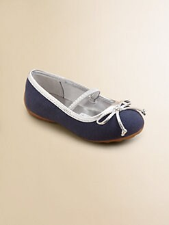 Ralph Lauren - Infant's & Toddler Girl's Allie Canvas Ballet Flats