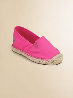 Ralph Lauren - Infant's & Toddler Girl's Bowman Espadrille Flats
