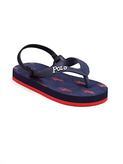 Ralph Lauren - Toddler's & Little Boy's Amino Flip Flops
