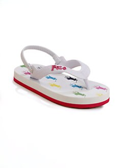 Ralph Lauren - Toddler's & Little Girl's Amino Flip Flops