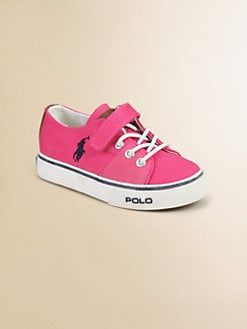 Ralph Lauren - Girl's Cantor EZ Canvas Sneakers