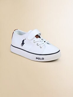 Ralph Lauren - Infant's & Toddler's Cantor EZ Canvas Sneakers