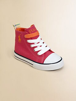 Ralph Lauren - Infant's & Toddler's Bal Harbour Bright Hi-Top Sneakers