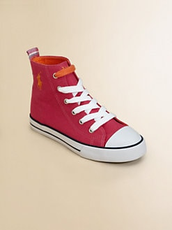 Ralph Lauren - Girl's Bal Harbour Bright Hi-Top Sneakers