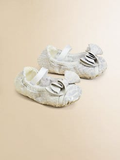Bloch - Infant's Angele Leather Ruffle Flats