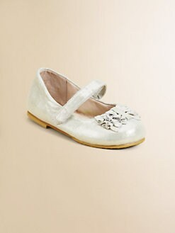 Bloch - Infant's & Toddler's Raphaela Metallic Leather Mary Janes