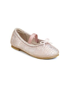 Bloch - Toddler's & Little Girl's Metallic-Print Ballet Flats