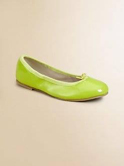 Bloch - Girl's Cha Cha Patent Leather Ballerina Flats