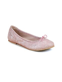 Bloch - Girl's Ayano Metallic-Print Ballet Flats