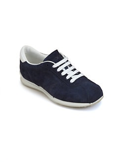 Tod's - Boy's Suede Lace-Up Sneakers