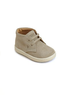 Tod's - Infant's & Toddler Boy's Suede Lace Booties