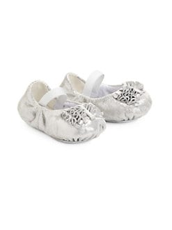 Bloch - Infant's Baby Cha Cha Shimmery Leather Ballet Flats