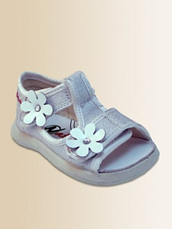 Naturino - Infant's & Toddler Girl's Glitter Flower Sandals