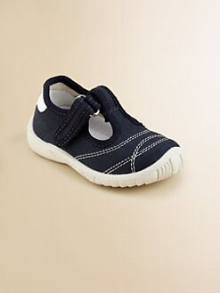 Naturino - Boy's Canvas T-Strap Sneakers