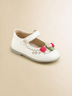 Naturino - Infant's & Toddler Girl's Rosette Mary Janes