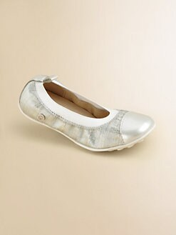 Naturino - Toddler's & Girl's Shimmer Ballet Flats