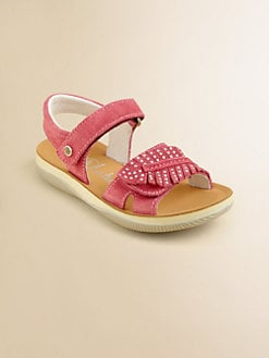 Naturino - Toddler's & Girl's Sparkle Suede Sandals