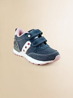Naturino - Toddler's & Girl's Jeweled Canvas Sneakers