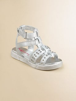 Naturino - Toddler's & Girl's Metallic Leather Gladiator Sandals