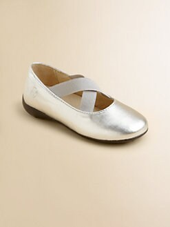Naturino - Toddler's & Girl's Metallic Ballet Flats