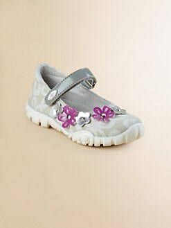 Naturino - Infant's, Toddler's & Girl's Embellished Flower Mary Janes