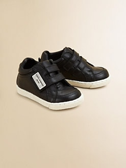 Dolce & Gabbana - Infant's & Toddler's Leather Grip-Tape Sneakers