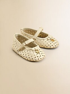 Dolce & Gabbana - Infant's Leather Mary Jane Flats