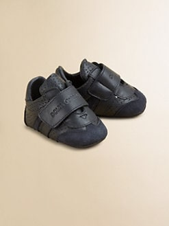 Dolce & Gabbana - Infant's Leather Grip-Tape Sneakers
