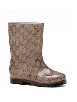 Gucci - Girl's GG Rain Boots