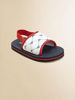 Armani Junior - Toddler's & Little Boy's Logo Flip-Flops