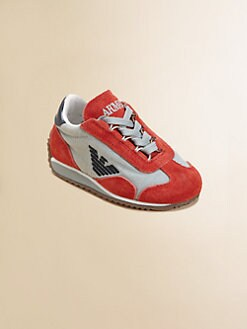 Armani Junior - Toddler Boy's Logo Sneakers