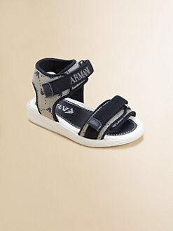 Armani Junior - Toddler's & Little Boy's Logo Sandals