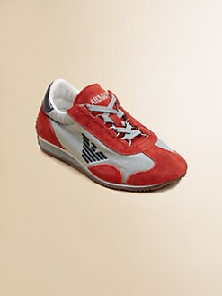 Armani Junior - Boy's Logo Sneakers