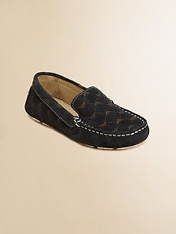 Armani Junior - Boy's Leather Driving Mocassins