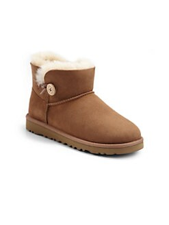 UGG Australia - Kid's Mini Bailey Button Boots
