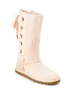UGG Australia - Girl's Heirloom Lace-up Boot