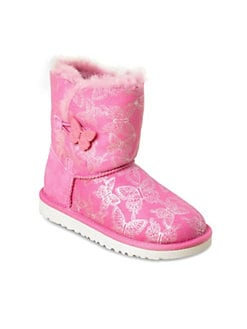 UGG Australia - Infant's, Toddler's & Girl's Butterfly Bailey Button Boots