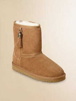 UGG Australia - Toddler's & Girl's Tassels Classic Boots