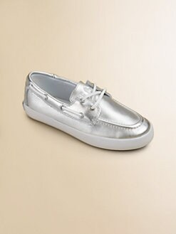 Ralph Lauren - Girl's Sander Metallic Boat Shoes