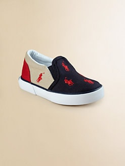 Ralph Lauren - Infant's, Toddler's & Boy's Bal Harbour Repeat  Slip-On Sneakers