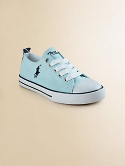 Ralph Lauren - Girl's Brooster Low-Top Canvas Oxford Sneakers