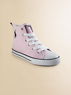 Ralph Lauren - Girl's Brooster Hi-Top Oxford Sneakers