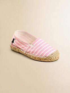 Ralph Lauren - Infant's & Toddler Girl's Bowman II Espadrille Flats