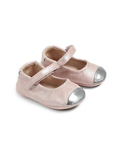 Bloch - Infant's Cap-Toe Leather Mary Jane Flats