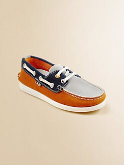Paul Smith - Boy's Suede Boatshoes