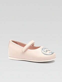 Gucci - Infant's & Toddler Girl's Interlocking GG Mary Jane Flats