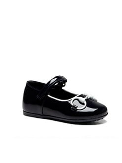 Gucci - Infant's & Toddler Girl's Horsebit Patent Leather Mary Jane Flats