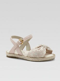 Gucci - Infant's & Toddler Girl's Stars Espadrille Sandals