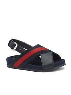 Gucci - Infant's & Toddler Boy's Signature Web Sandals