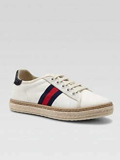 Gucci - Boy's Signature Web Espadrille Sneakers